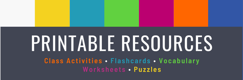Printable resources blog header