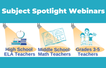 Subject Spotlight Webinars Blog Lead Image