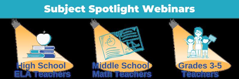 Subject Spotlight Webinars Blog Header