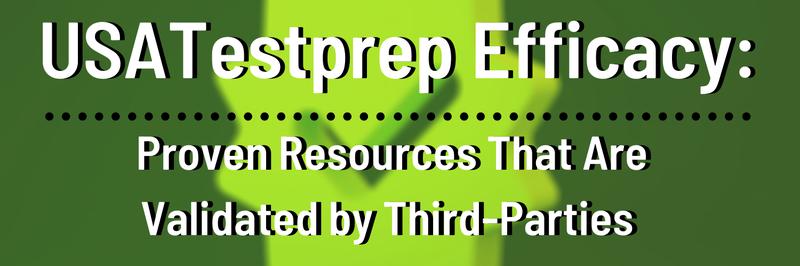 USATestprep Efficacy Blog Header